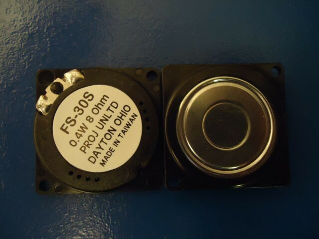 1Pc, FS-30S , ( 0.4 Watt ) / 8 Ohm speaker