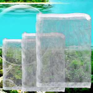 5pcs nylon mesh aquarium fish tank pond filter supplies for Fish pond filter mesh