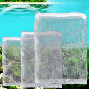 5X-Filter-Net-Bag-For-Bio-Ball-Carbon-media-Ammonia-Aquarium-Fish-Tank-Nice-tx