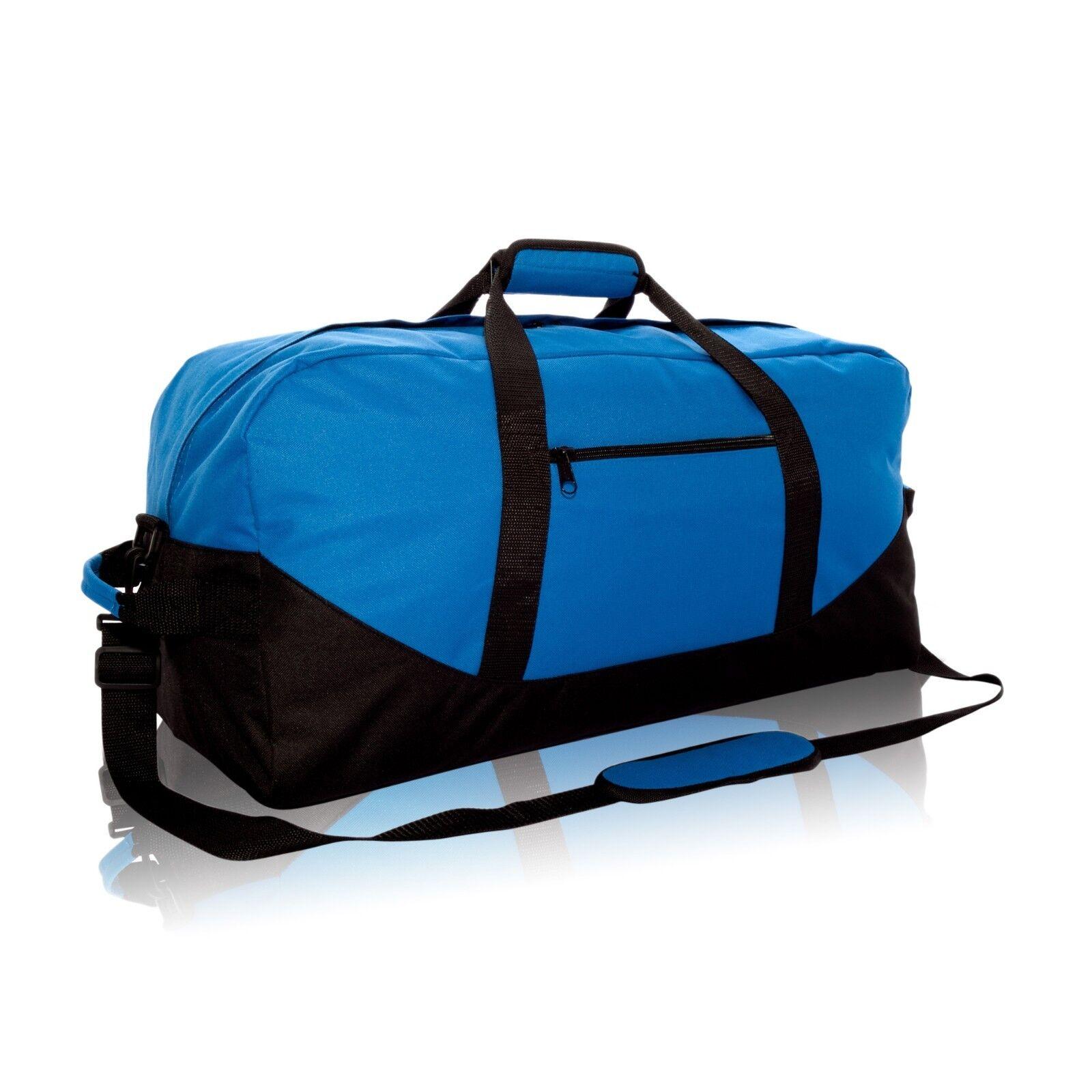 DALIX 25 Big Adventure Large Gym Sports Duffle Bags