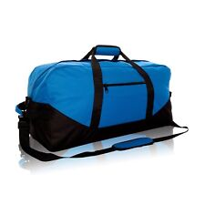 DALIX Duffle Bag Sports Duffel Bag in Royal Blue and Black Gym Bag ... 161ad3c095