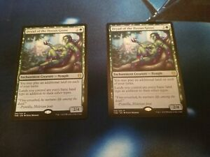 R Theros: Beyond Death Dryad of the Ilysian Grove Extended Art MTG Magic -