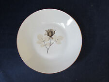SET OF FOUR - Rosenthal China SHADOW ROSE Large Soup Bowls