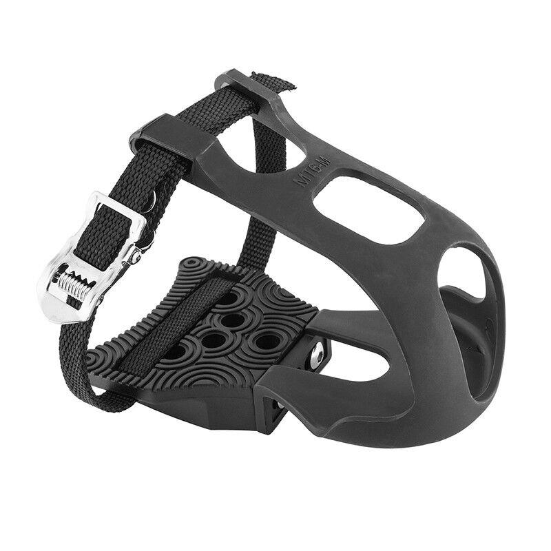 Exustar Zeh Clip Pedal Plateau Adapter mit / Pedalhaken & Riemen Stollenschuhe