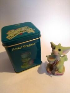 The Whimsical World Of Pocket Dragons - Time for Tea Exelcent ConditionbIn Tin