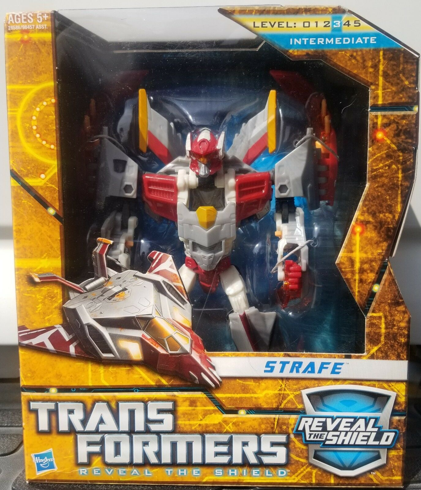 Transformers Reveal The Shield Voyager Strafe NISB