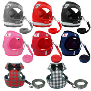 Escape-Proof-Cat-Walking-Jacket-Harness-Leash-Small-Dog-Pet-Puppy-Vest-Clothes