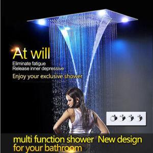 31-034-LED-Rainfall-Shower-Heads-Sets-Bathroom-Thermostatic-Valve-Faucet-Bath-Mixer