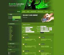 Concert Promotion and Touring Ads Business Website for Sale + GOOGLE ADSENSE