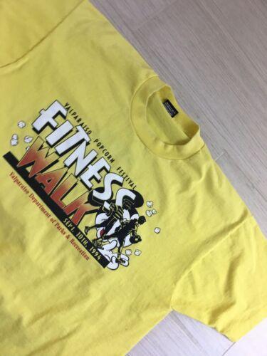 Vintage T-Shirt Valparaiso Popcorn Festival 1994 S