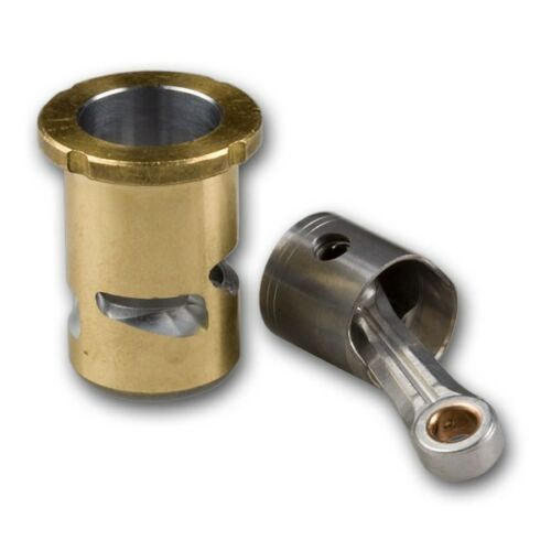 NVR08677 Novarossi Complete Coupling 2.1cc Rear Exhaust CNC Piston