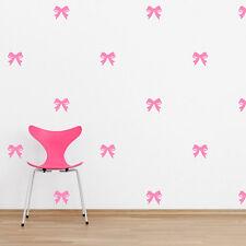 Girls Love Decor Inspirational Bows Wall Paper Art Decal Sticker Vinyl Mural