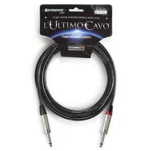Reference-cables-L-039-ultimo-cavo-Cavo-Jack-1-4-Jack-1-4-3-Metri-NEUTRIK