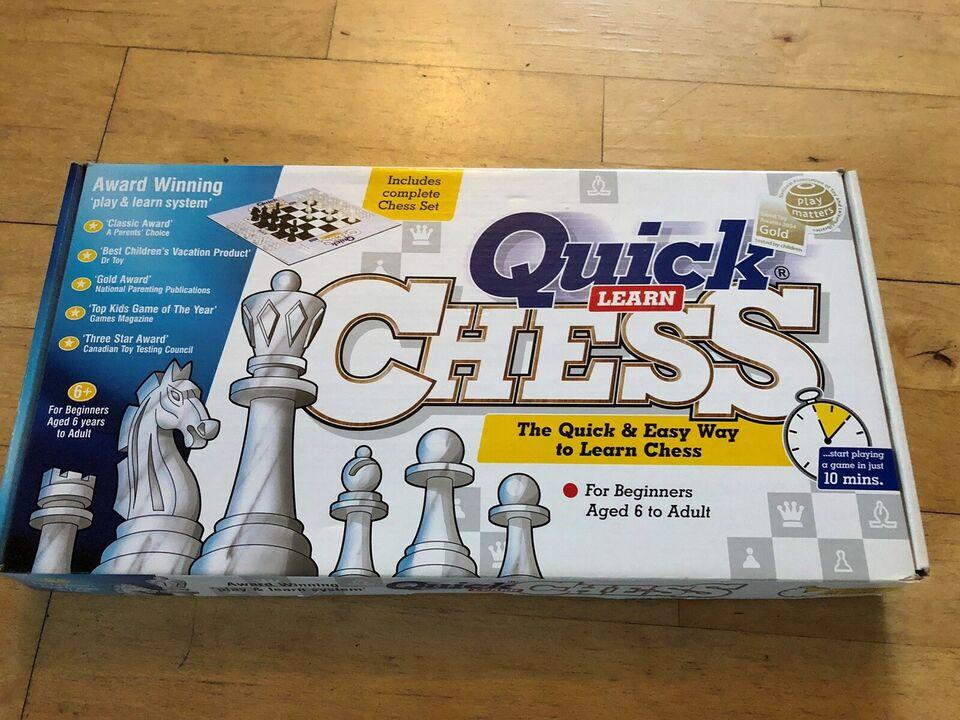 Quick Chess, brætspil