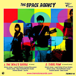 The-Space-Agency-The-Devil-039-s-Saddle-Tiger-Paw-New-7-034-Inch-Vinyl-Single