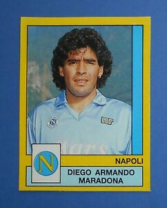 Figurine-MARADONA-No-232-footballers-Panini-1988-89-Adhesive-with-Tissue-recovered