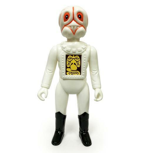 Galaxy commandants commandant McBrain Soft SOFUBI Vinyl Toy Figure skullmark