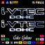 """thumbnail 6 - (2)x i-VTEC DOHC ivtec 11"""" emblem Vinyl Sticker Honda Civic Decal JDM drift 006"""