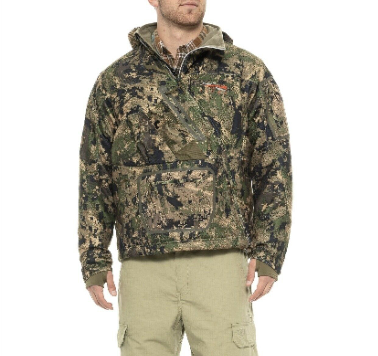 Sitka Fanatic Ground Forest Hunting Jacket Talla- XL