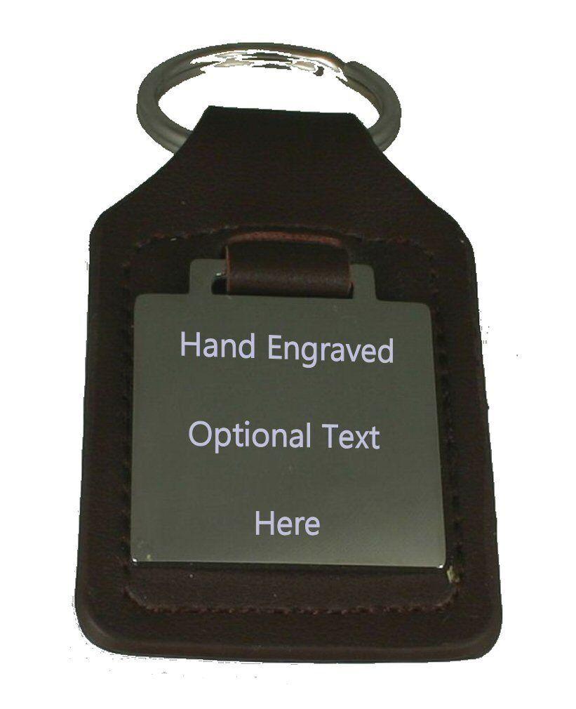 7d2bf2e2d327c ... Royal Air Force Cranwell Graviert Schlüsselanhänger aus aus aus Leder