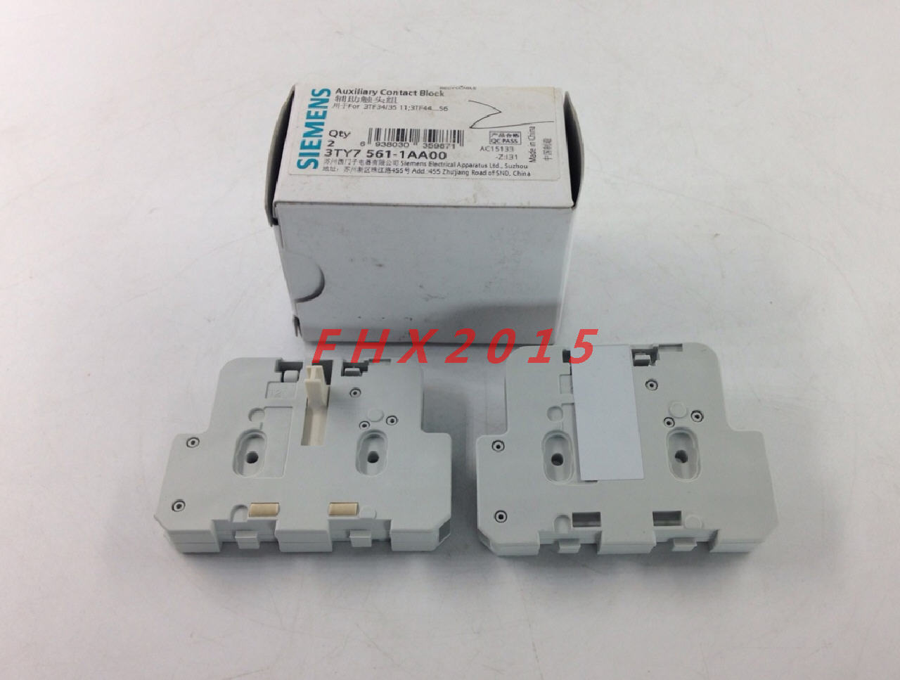 1 PCS NEW IN BOX Siemens side auxiliary contacts contact 3TY7 561-1AA00