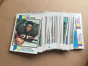 1973-Topps-Football-Complete-Your-Set-You-Pick-10-lot-VG-or-better