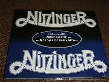 CD.NITZINGER SAME .71+73 SECON.2 ALBUMS ON 1 CD. UNE TORNADE HEAVY BLUES SUDISTE