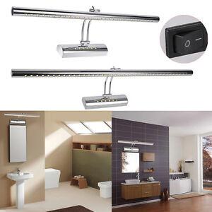 mit schalter led spiegelleuchte spiegellampe bad bilderleuchte 5w 7w 9w 15w ebay. Black Bedroom Furniture Sets. Home Design Ideas