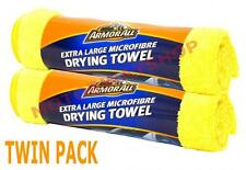 Armor All Car Drying Towel Cloth TWIN PACK Microfibre Extra Large 58 x 78cm