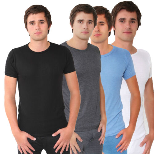New Mens Half-Slevees Thermal Warm Winter Underwear Small-Big Size King XXLarge