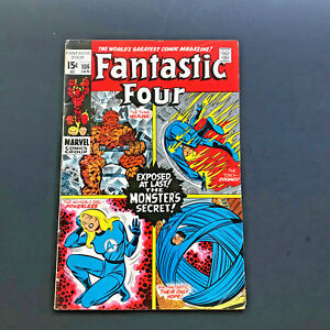 Fantastic-Four-106-Comic-Book-Very-Good-Condition