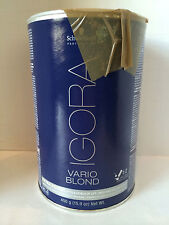 Schwarzkopf Igora Vario Blond Powder- Extra Power Up To 8 Level Of Lift - 15.9oz