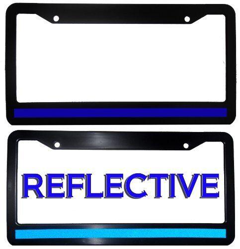 Thin Blue Line License Plate Frame | eBay