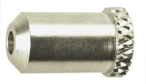 Jagwire 5mm Steel Housing Stop Chrome Bag of 50