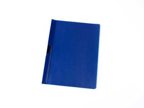 Farbe Bewerbungsmappe Klemmhefter dunkelblau 10 Cliphefter DIN A4