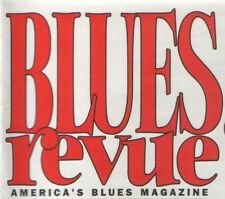 BLUES REVUE MAGAZINE -  ISSUE 34 - JANUARY/FEBRUARY 1998 – TOMMY CASTRO COVER