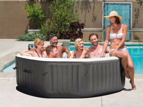 A portable spa or hot tub can be enjoyed nearly anywhere.