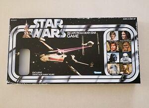Star-Wars-Escape-From-Death-Star-Retro-Board-Game-Open-Box-No-Tarkin-figure