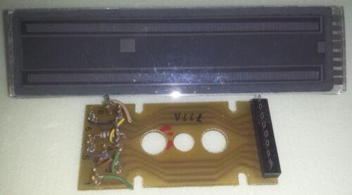 Cherry W750-2050 nixie neon VU-display tested selfscan