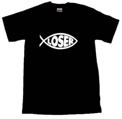 Born Again Loser Cool T-SHIRT ALL SIZES # Black