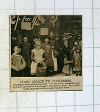 1920 Big Trade For Deptford Miller Before Increase In The Price Of Flour