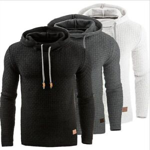 Stylish-Men-039-s-Slim-Warm-Hooded-Sweatshirt-Hoodie-Coat-Jacket-Outwear-Sweater-New