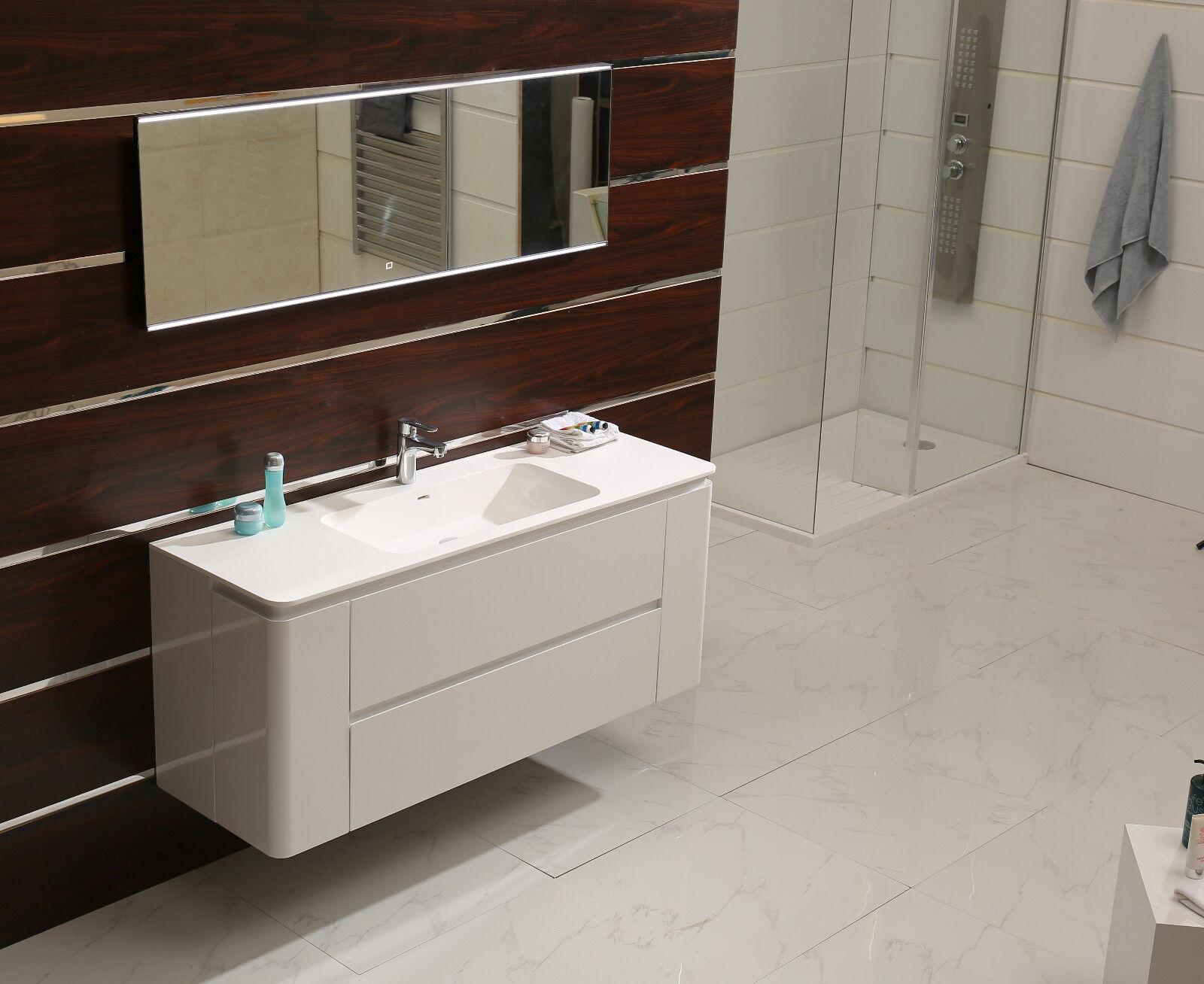 LED-éclairage miroir de salle gs112 Lumière Mural Miroir Miroir Mural Lumière avec touch-Interrupteur bdd941