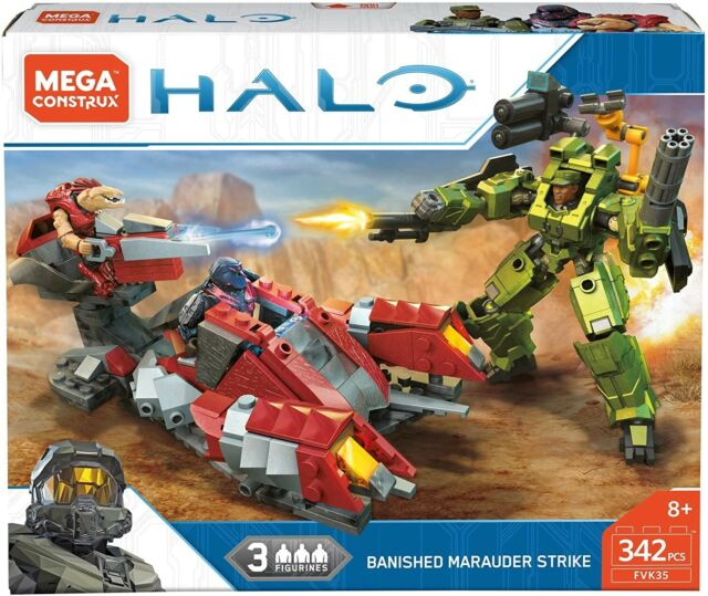 HALO Banished Marauder Strike (FVK35) 342 pcs by MEGA CONSTRUX RARE! LQQK!