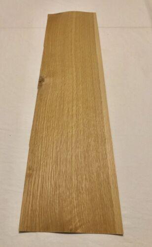 "White Oak Wood Veneer 4 Sheets 8 Sq Ft 1//16"" Thick 35"" X 8.5"""