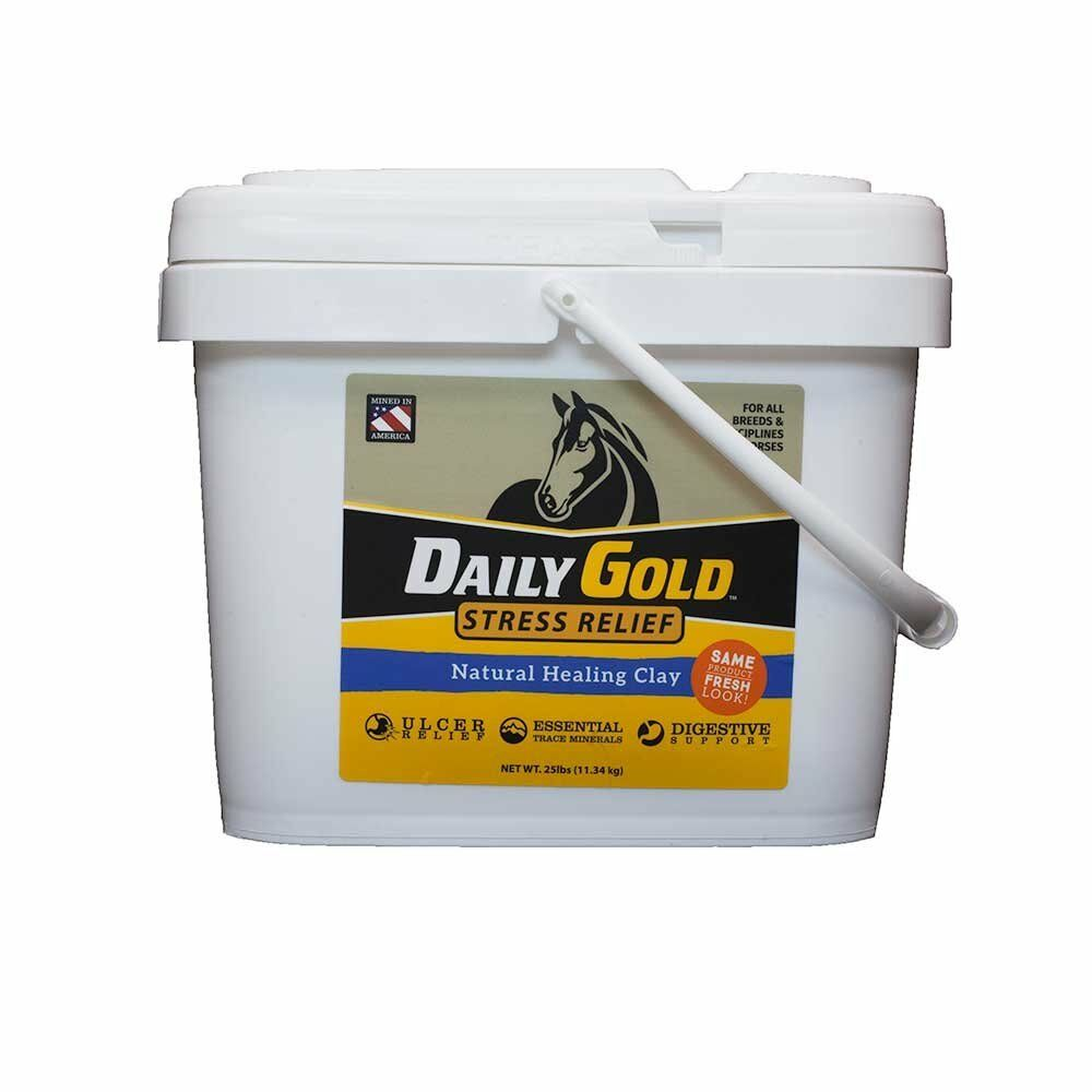 Redmond Daily gold Stress Relief,Healing Clay for Gastric Ulcers in  Horses, 25lb  high quality