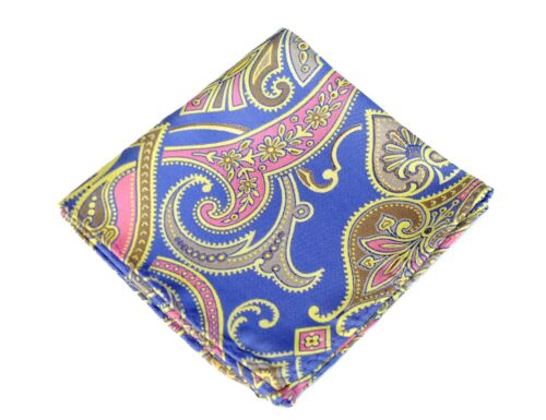 Lord R Colton Masterworks Pocket Square $75 Retail New Upsala Purple Silk