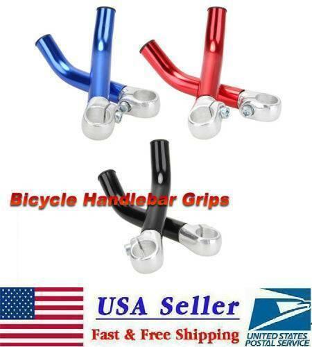 2pcs Bicycle Handlebar Protective End MTB Bike Aluminum Alloy Handle Bar Grips