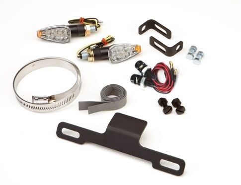 TRIUMPH DAYTONA 675 2006-2012 FENDER ELIMINATOR KIT NEW COMPLETE WITH LED