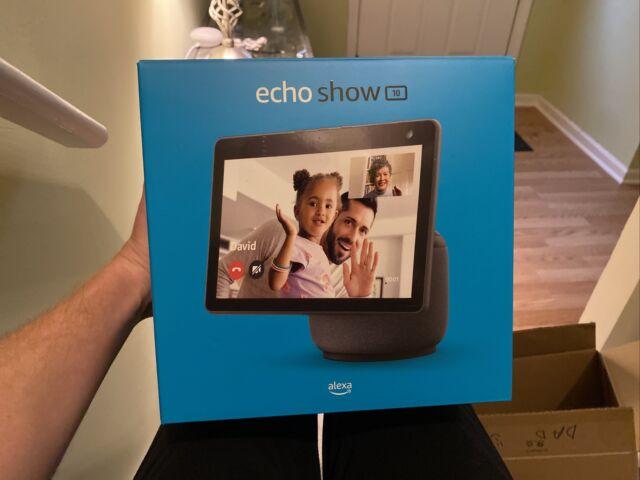 NEW Amazon Echo Show 10 (3rd Gen) Smart Speaker - Charcoal / Black